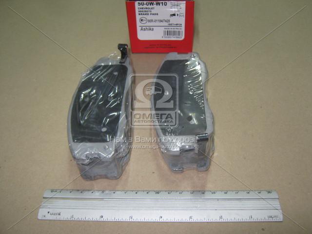 Колодка тормозная CHEVROLET CAPTIVA (производство ASHIKA) (арт. 50-0W-W10), rqv1