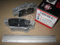 Колодка тормозная MAZDA 3 (производство ASHIKA) (арт. 51-00-005), ACHZX