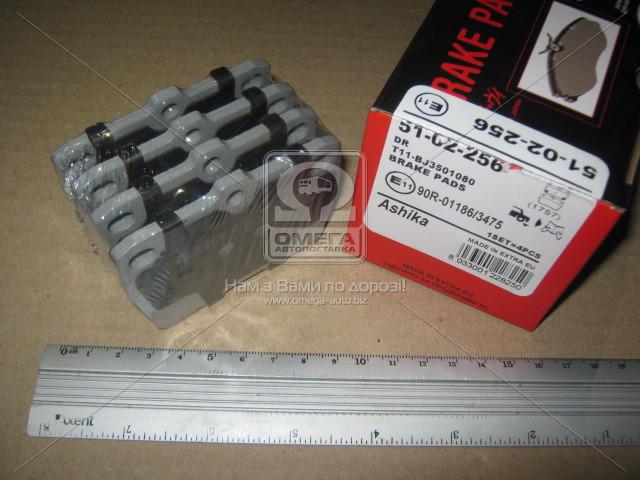 Колодка тормозная TOYOTA RAV 4 (производство ASHIKA) (арт. 51-02-256), rqc1