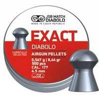 Пули для пневматики JSB Diabolo Exact (4.5mm, 0,547g, 500шт)