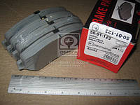 Колодка тормозная NISSAN X-TRAIL (производство ASHIKA) (арт. 50-01-123), ADHZX