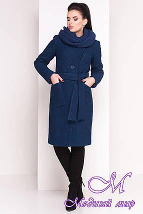 Теплое женское шерстяное зимнее пальто (р. S, М, L) арт. Габриэлла 4224 - 20837, фото 2