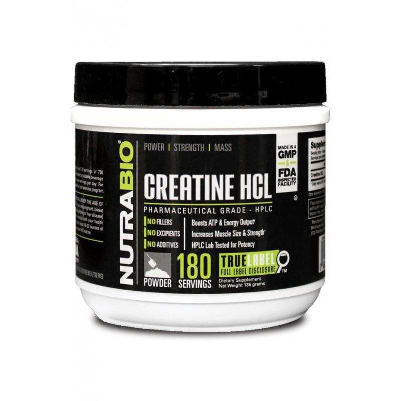Nutrabio Creatine HCl 180 порций