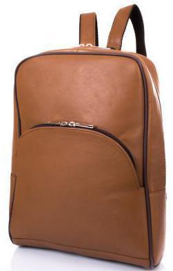 Женский кожаный рюкзак TUNONA SK2428-10 коричневый 6 л