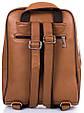 Женский кожаный рюкзак TUNONA SK2428-10 коричневый 6 л, фото 3