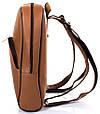 Женский кожаный рюкзак TUNONA SK2428-10 коричневый 6 л, фото 4