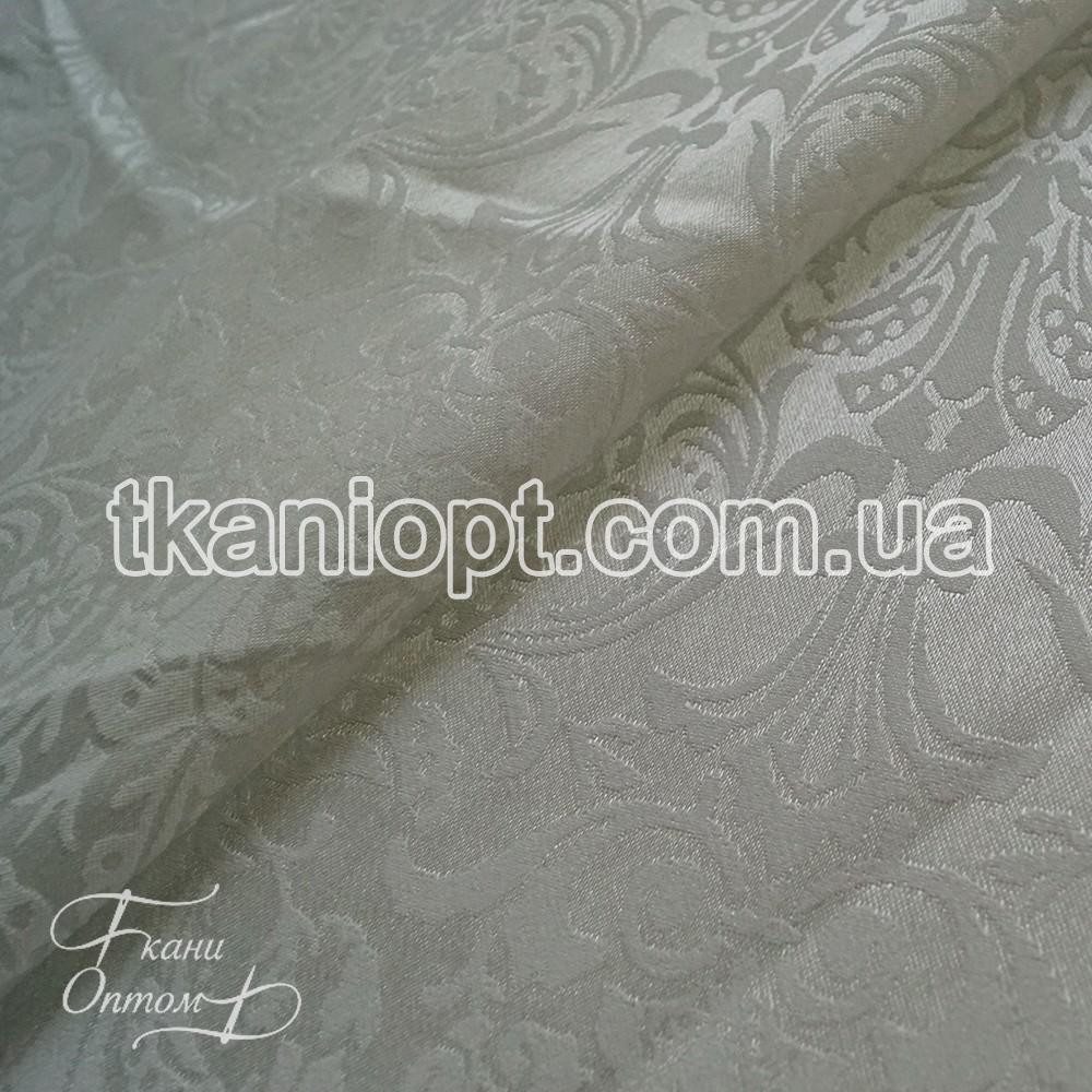 Ткань Жаккард (молочный)