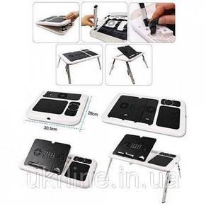Столик-подставка для ноутбука E-Table стіл розкладний, фото 2