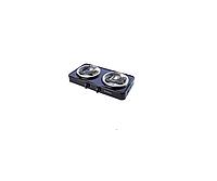 Электрическая плита настольная Элна 200Н (2 конфорки) узкая-2 квт