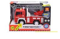 WY 550 B Пожарная машина музыкальная, инерция, свет HN