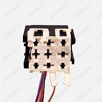 Разъем электрический 9-и контактный (35-27) б/у 16502
