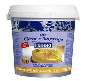 Fabbri Nappage Caramel, Amarena, Apricot - Дзеркальні глазурі (Мируари) 4,5 кг, фото 2