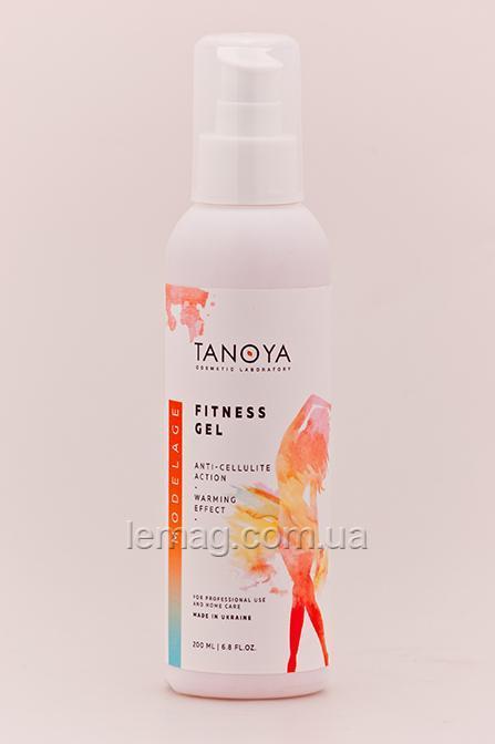 TANOYA   Modelage Фитнес-гель разогревающий, 200 мл