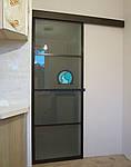 Подвесная система для  межкомнатных дверей купе ( перегородок)