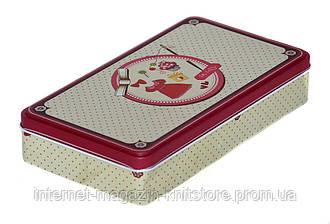 Шкатулка для швейных принадлежностей металлическая 30*110*200