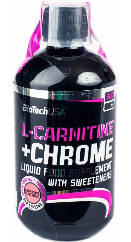 Карнитин BioTech - L-Carnitine + Chrome (500 мл)