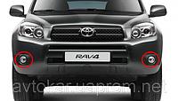 Противотуманные фары Toyota RAV-4 с 2009-2014 / Производитель DLAA