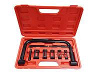 Рассухариватель клапанов струбцинного типа в комплекте со сменными насадками