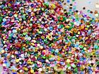 3D блиск, конфетті для нігтів, фото 5