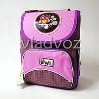 Школьный каркасный рюкзак для девочек сова OWL YES