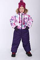 Зимний термокомбинезон WILLY для девочки 7 лет р. 122 ТМ HUPPA 31900030-71520