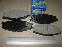 Колодка тормозной (Производство MK Kashiyama) D1073