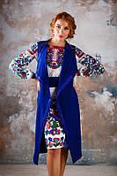 Дизайнерське вбрання з вишивкою