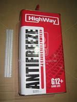 Антифриз HighWay ANTIFREEZE-40 LONG LIFE G12+ (красный) 5кг, ABHZX