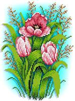 """Схема для вышивки """"Тюльпаны"""""""