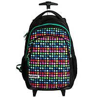 Рюкзак школьный на колесах молодежный PASO PANTA-997