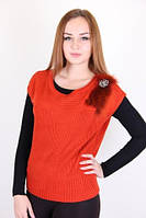 Молодежная женская кофточка  цвета в ассортименте
