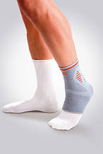 Orliman Sport спортивный мягкий бандаж голеностопного сустава с силиконовыми подушечками
