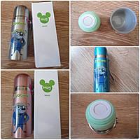 Детский термос для напитков и чая с клапаном ZooTopiA 500ml 3 цвета