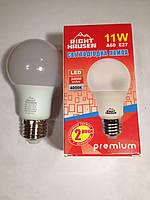 Лампа светодиодная 11W E27 4000K A60 Right Hausen LED