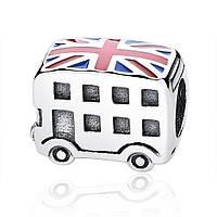 """Шарм Pandora Style (стиль Пандора) """"Лондонский автобус"""""""