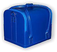 Бьюти-кейс для косметики (голубой)