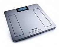 Весы напольные электронные из нержавеющей стали Момерт (Momert 5849), до 180 кг, Венгрия