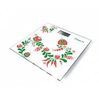 """Весы напольные электронные """"Орнамент"""" Момерт (Momert 5870-1), до 180 кг, Венгрия"""