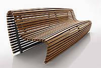 Деревянные скамейки для сада