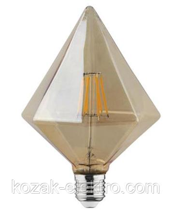 Лампочка RUSTIC PYRAMID-6 Вт Е27