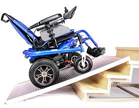 Складаний алюмінієвий пандус для інвалідних колясок 2,1 М OSD-RPM-21006L, фото 3