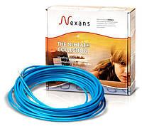 Теплый пол в стяжку под ламинат, кафель 1,8-2,2 м.кв. 300 Вт. Одножильный кабель Nexans. Гарантия 20 лет.