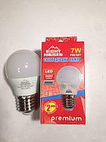 Лампа светодиодная шарик 7W E27 4000K G45 Right Hausen LED