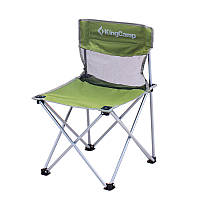 Стул складной Kingcamp «Compact Chair in Steel M» Dark green