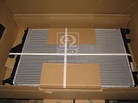 Радиатор охлаждения RENAULT DUSTER (10-), LOGAN I (04-), SANDERO I (08-) (производство Nissens) (арт. 637612), AGHZX