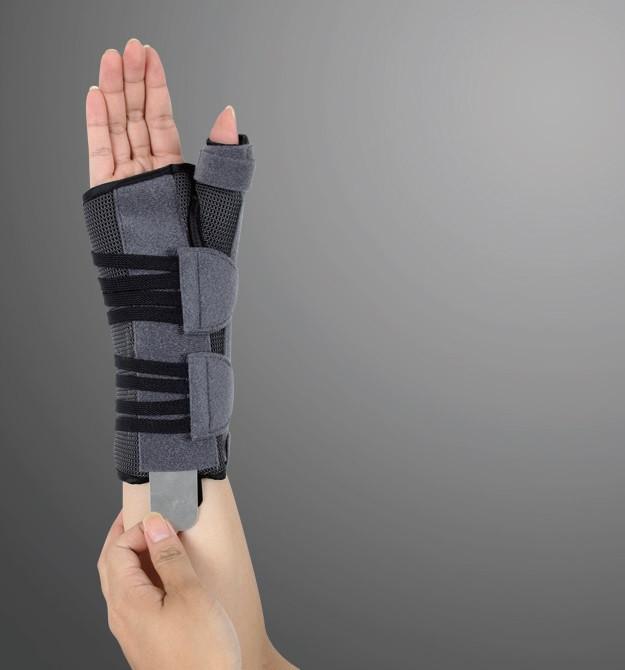 Ортез для променево-зап'ясткового суглоба великого пальця з анатомічними шинами EH-404 (правий), Ortop,