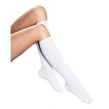 Носки компрессионные, 1 класс, 280 Den, (17-20 мм.рт.ст) белые, Business 321, Lipoelastic, Чехия