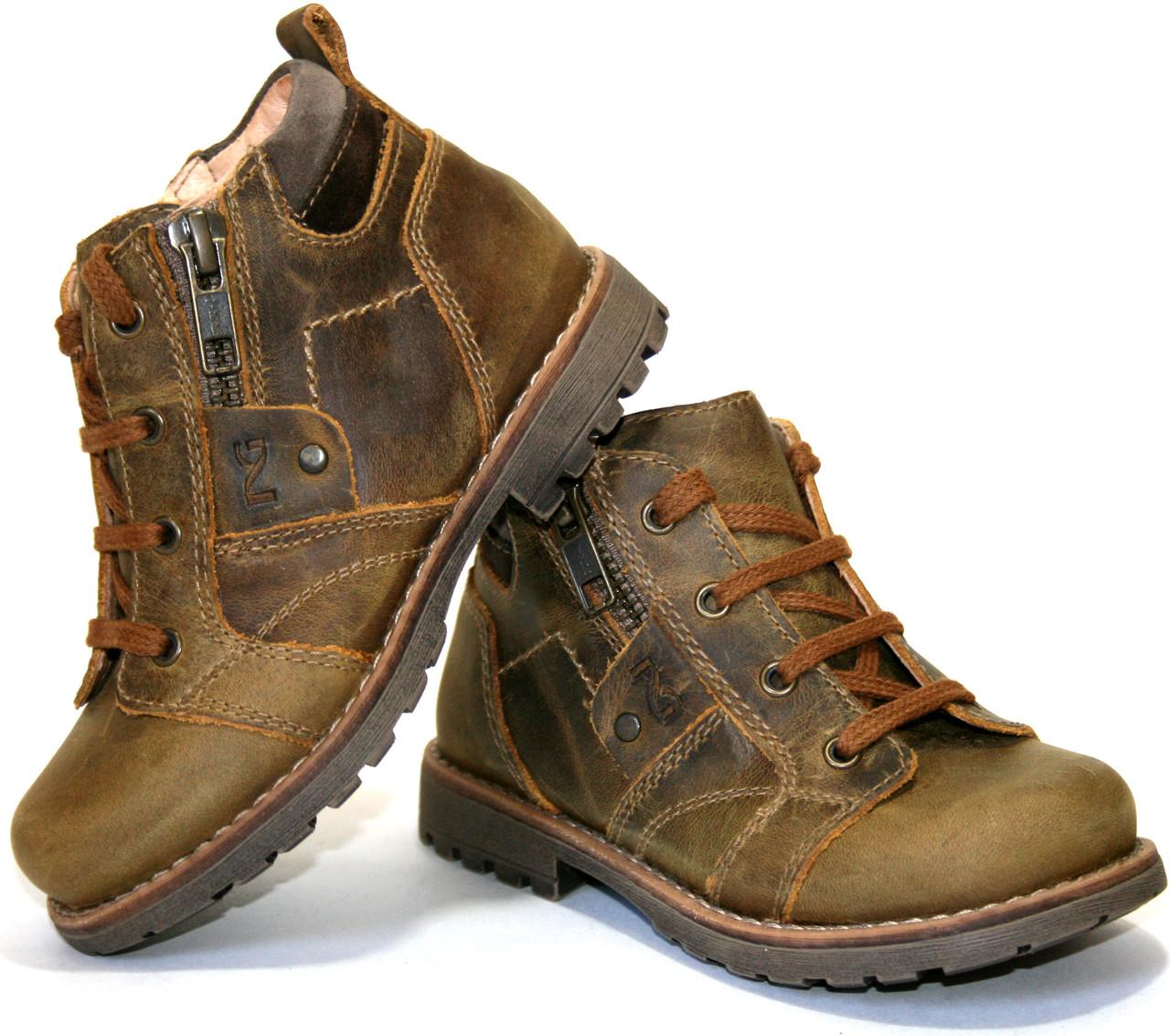 Дитячі черевики для хлопчика NeroGiardini Італія розміри 21-24