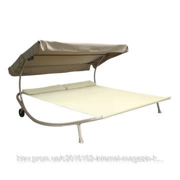 Лежак кровать с крышей Garden4you NIXI  Beige
