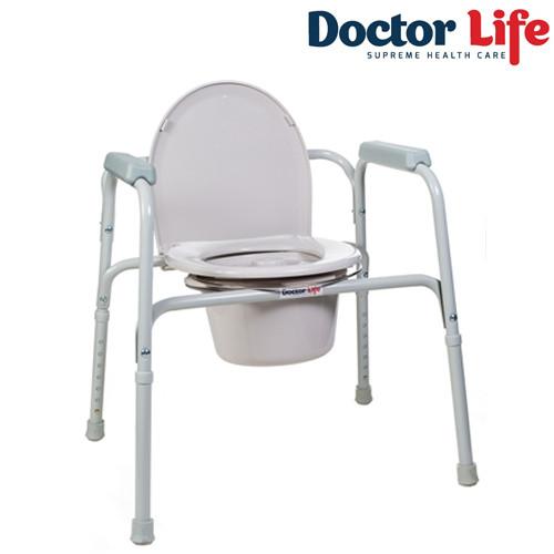 Стул туалетный со спинкой - 11356, Doctor Life